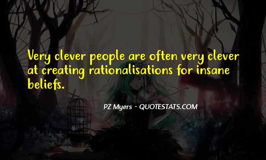 Rationalisations Quotes #1455278