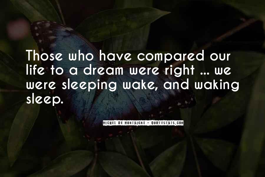 Quotes About Sleeping Outside #19349