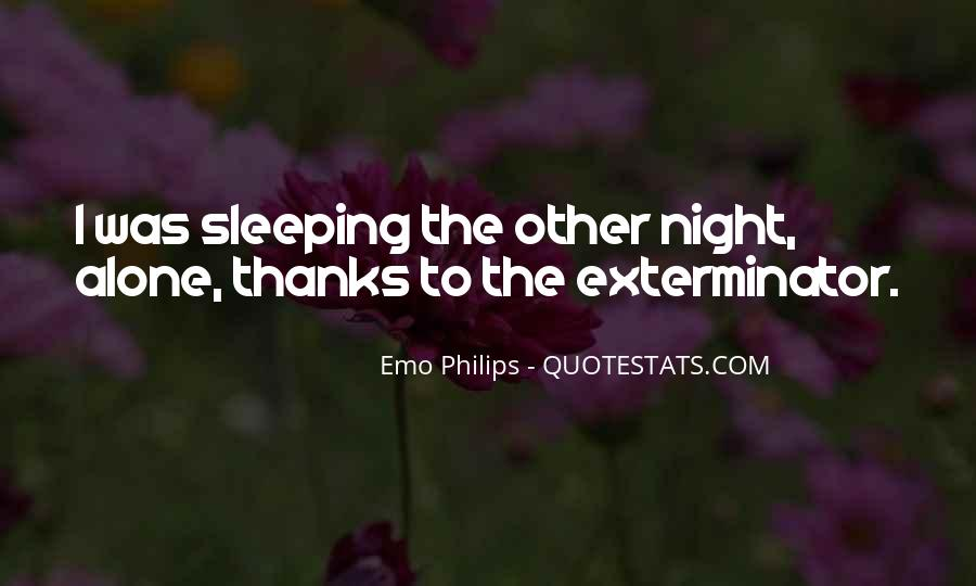 Quotes About Sleeping Outside #30451
