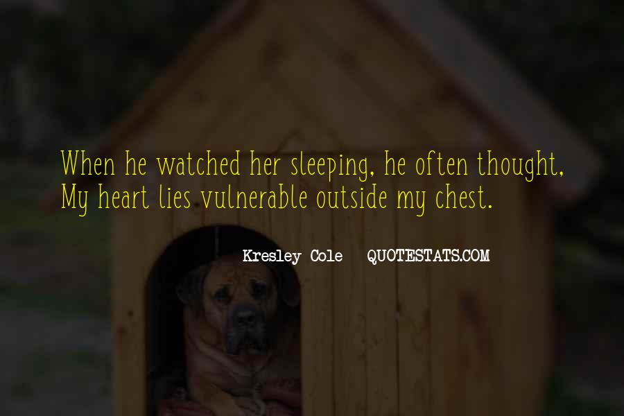 Quotes About Sleeping Outside #324176