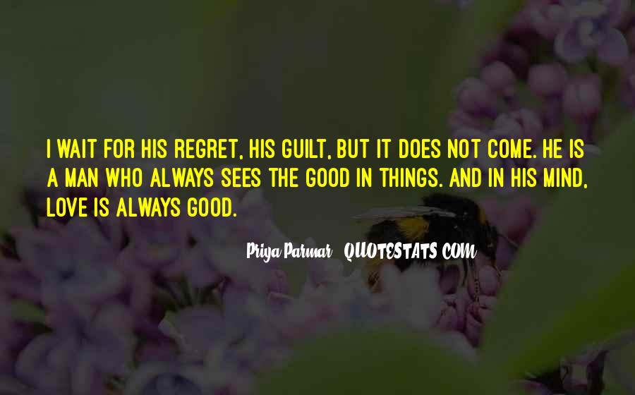 Quotes About Regret And Love #13760