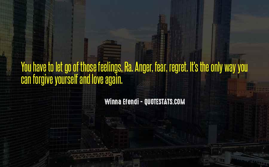Quotes About Regret And Love #137624