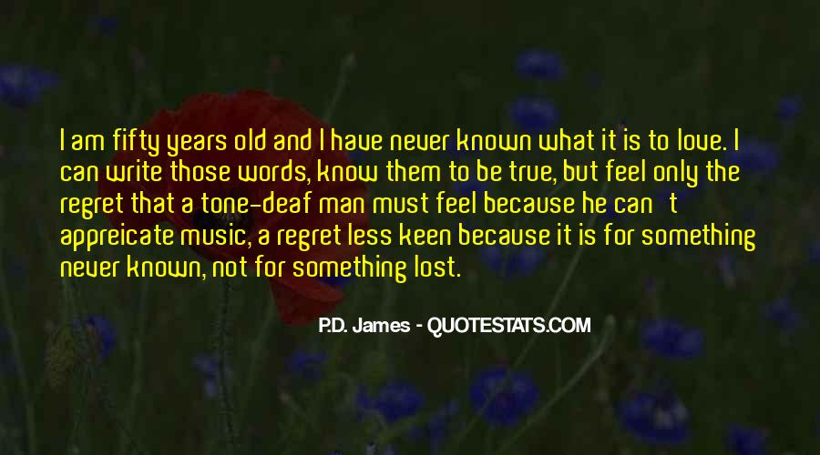 Quotes About Regret And Love #226838