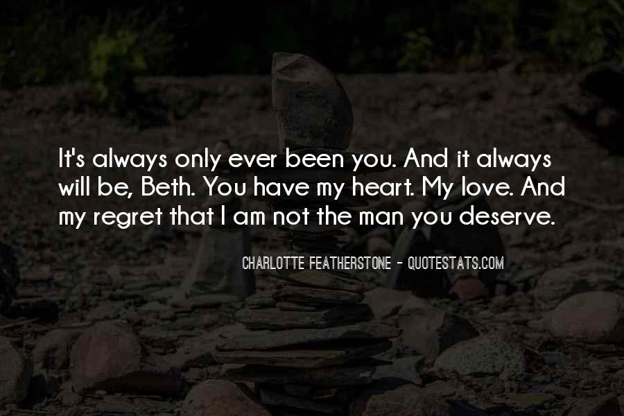 Quotes About Regret And Love #742649