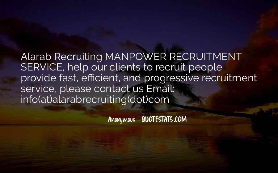 Recruitment Quotes #1454195