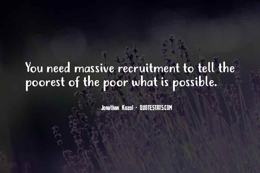 Recruitment Quotes #976989