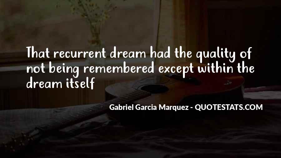 Recurrent Quotes #1472151