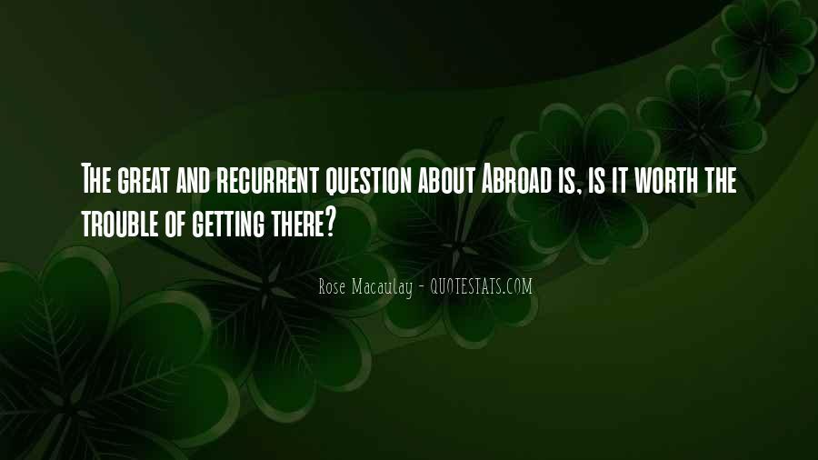 Recurrent Quotes #275905