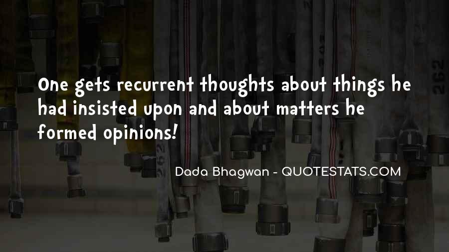 Recurrent Quotes #635787
