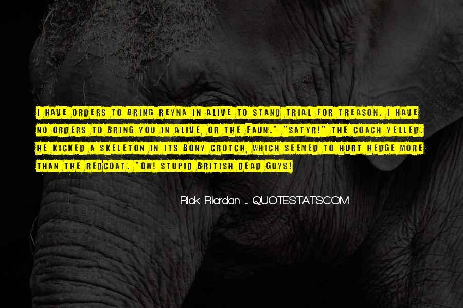 Redcoat Quotes #1675548