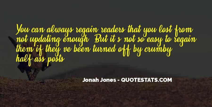 Regain Quotes #376529