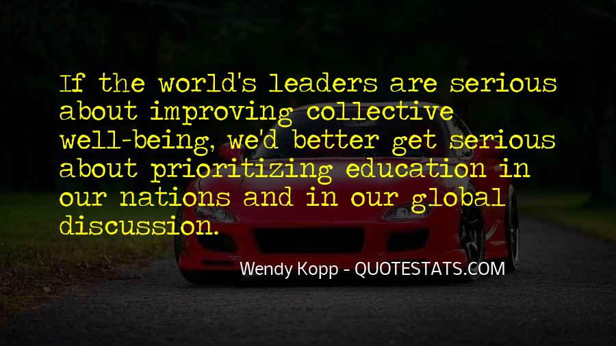 Quotes About Improving Education #354033