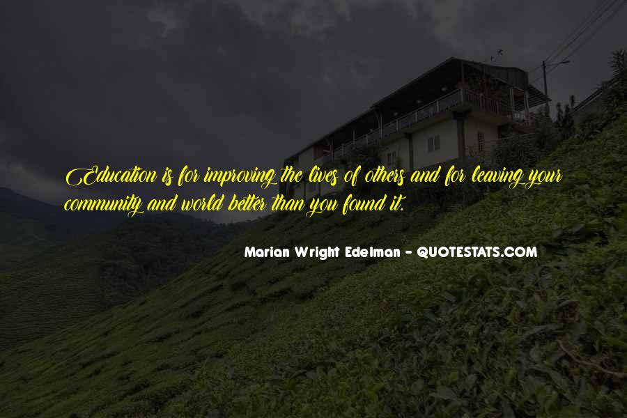 Quotes About Improving Education #459259