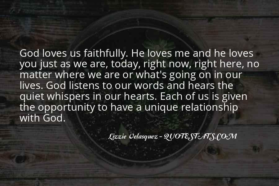 Quotes About God Loves Me #1314032