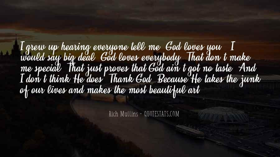 Quotes About God Loves Me #939694