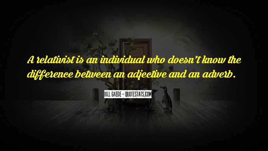 Relativist Quotes #494707