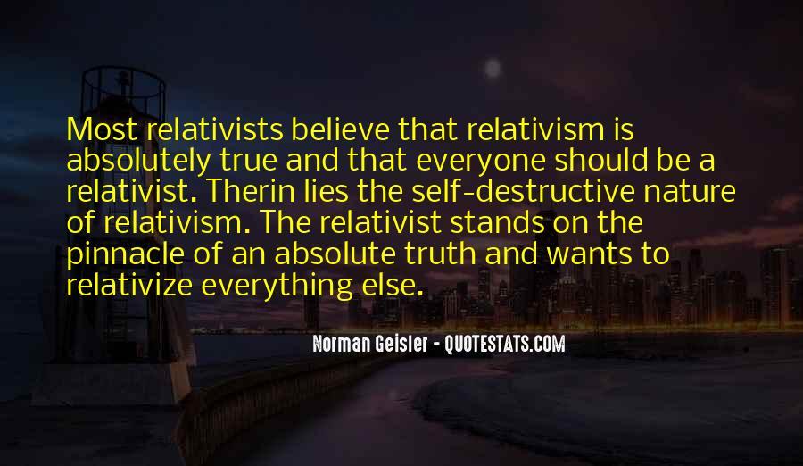 Relativist Quotes #914447