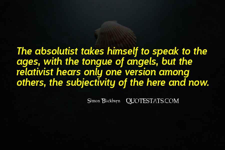 Relativist Quotes #953825