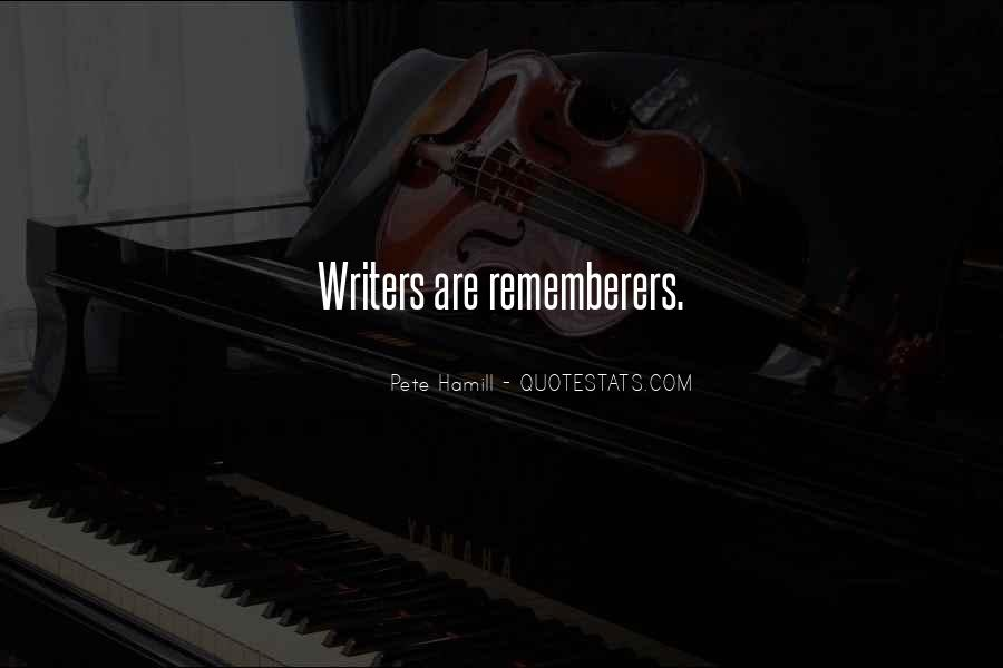 Rememberers Quotes #964206