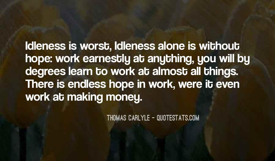 Quotes About Endless Hope #1170460
