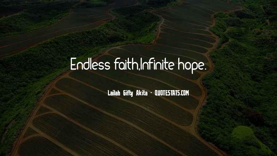 Quotes About Endless Hope #1855012