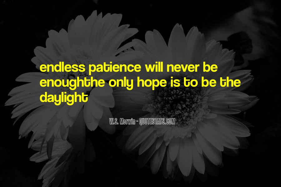Quotes About Endless Hope #205499