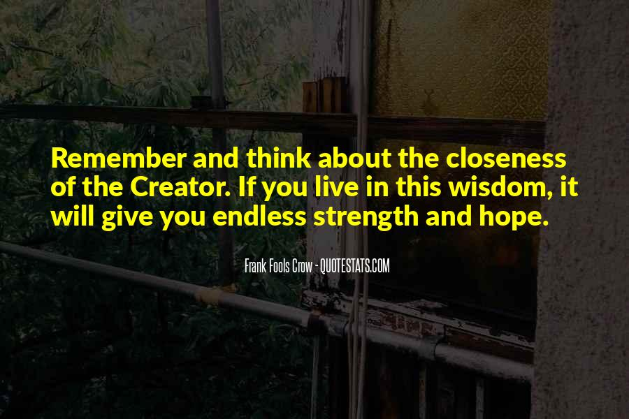 Quotes About Endless Hope #252469