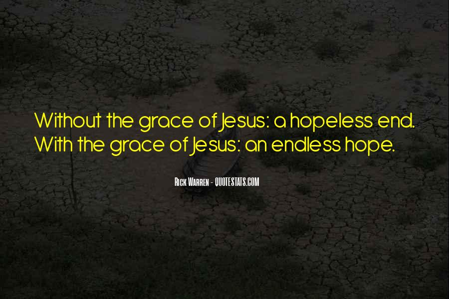 Quotes About Endless Hope #299855