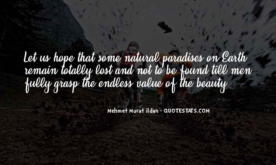 Quotes About Endless Hope #797538