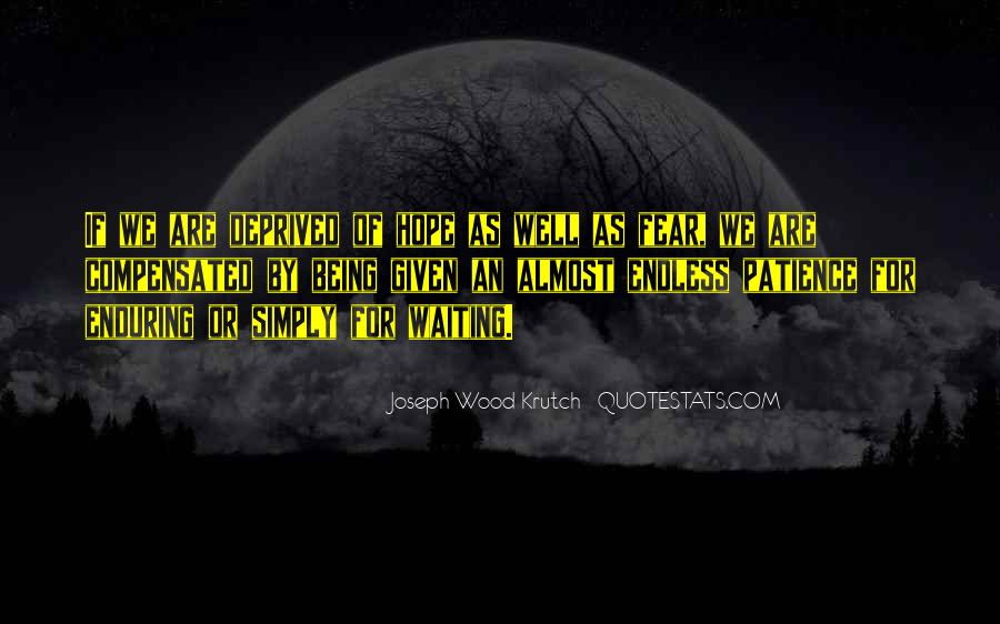Quotes About Endless Hope #799051