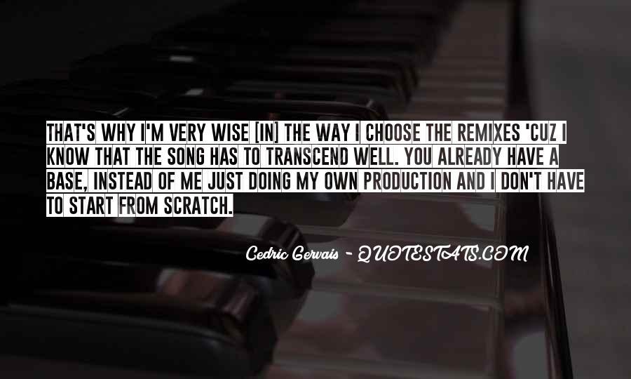 Remixes Quotes #1154826