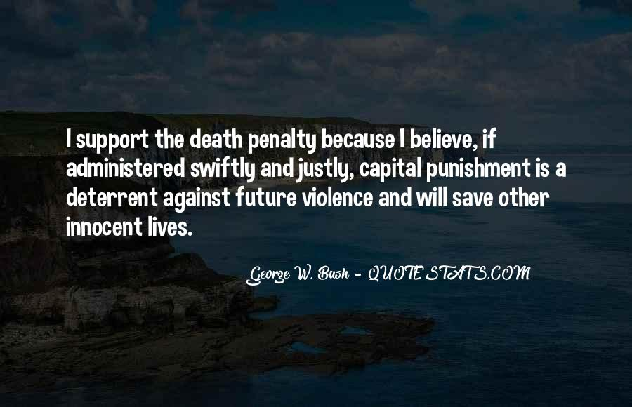 Quotes About Death Penalty Support #1628331
