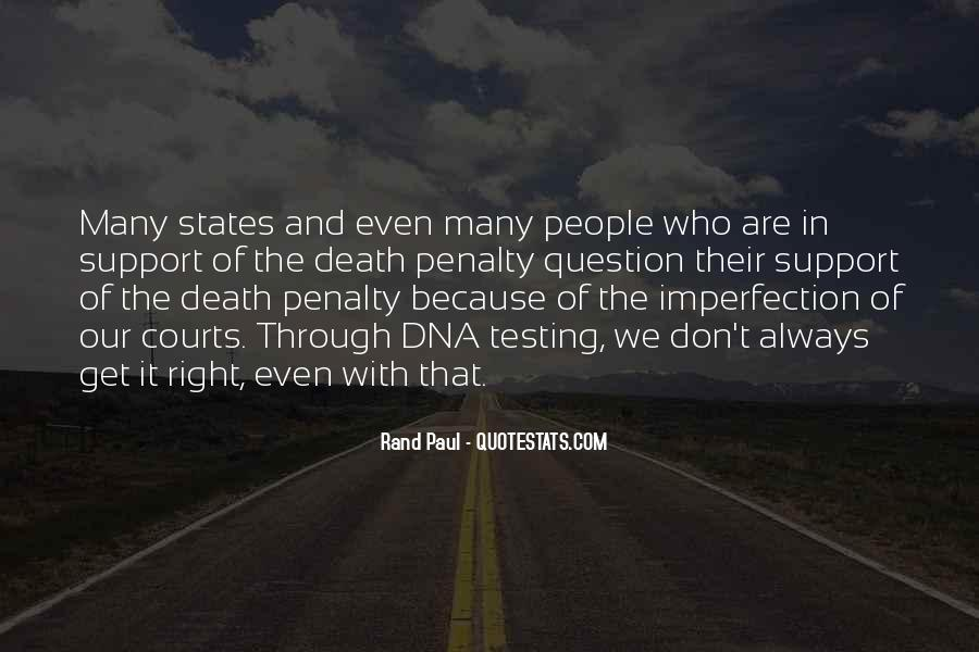 Quotes About Death Penalty Support #600401