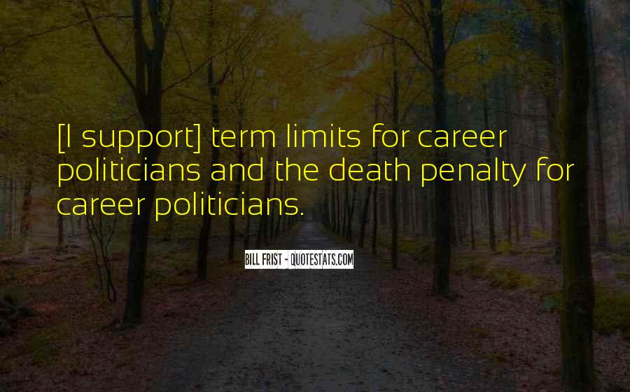 Quotes About Death Penalty Support #681828