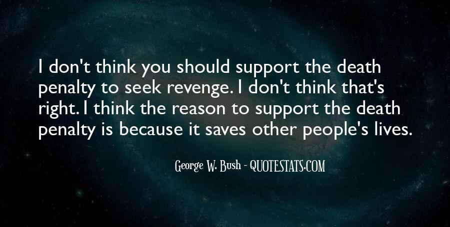 Quotes About Death Penalty Support #859215