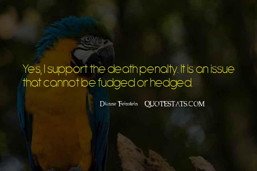 Quotes About Death Penalty Support #880052