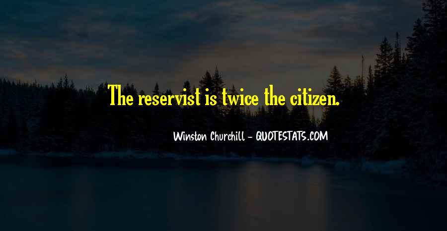 Reservist Quotes #101946