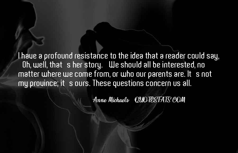 Resistance's Quotes #206830
