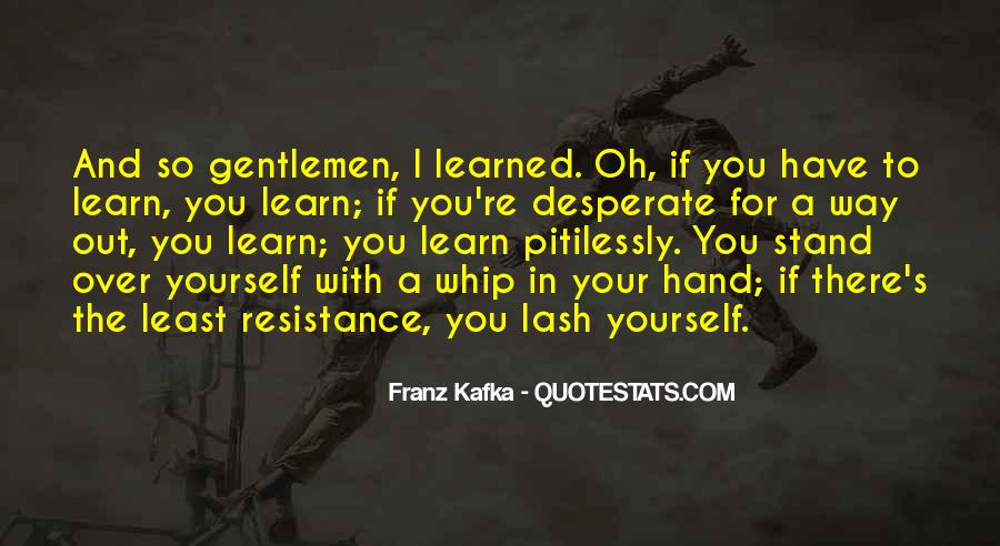 Resistance's Quotes #501501