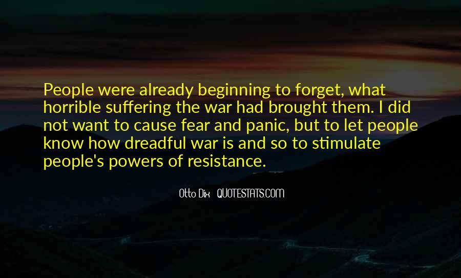 Resistance's Quotes #673621