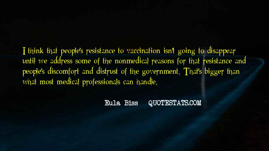 Resistance's Quotes #726541