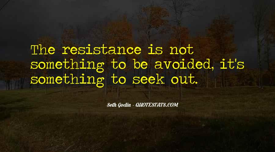 Resistance's Quotes #933173