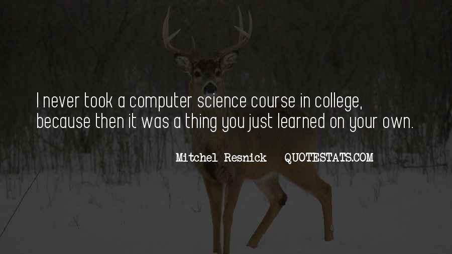 Resnick Quotes #1519085