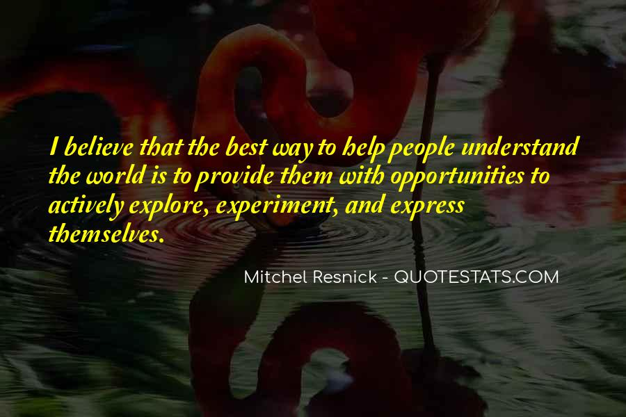 Resnick Quotes #167166