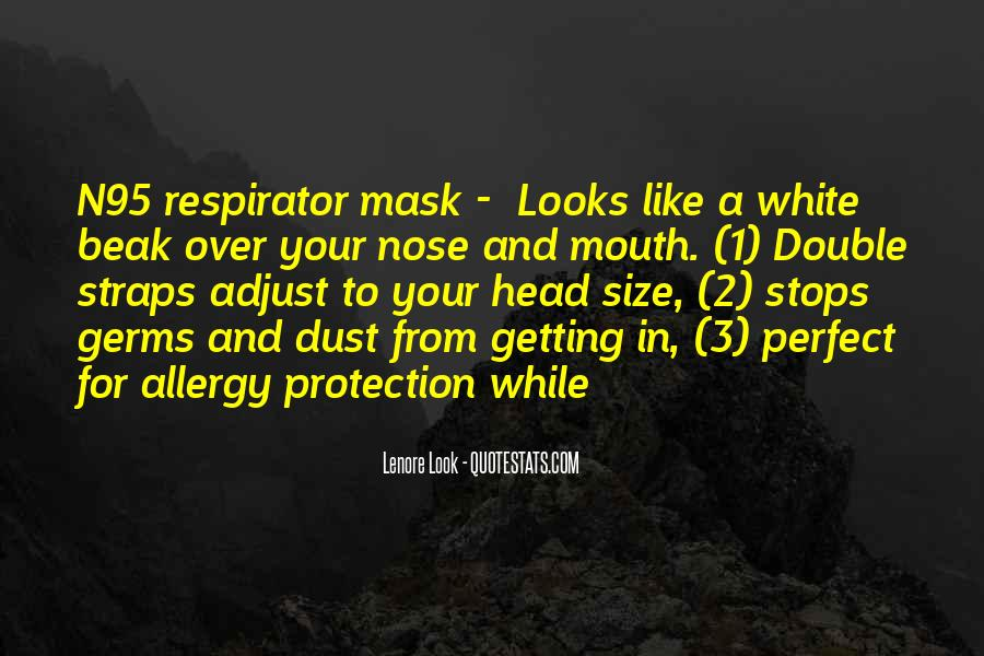 Respirator Quotes #677334