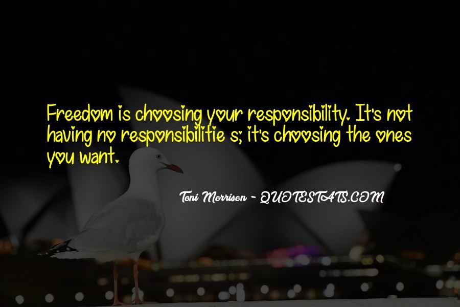 Responsibilitie Quotes #1462960