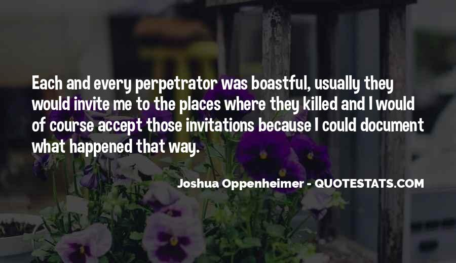 Quotes About Oppenheimer #47107