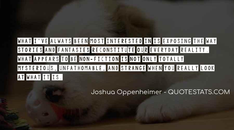 Quotes About Oppenheimer #480341