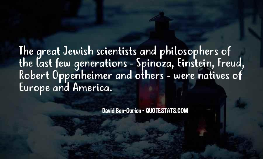 Quotes About Oppenheimer #654067