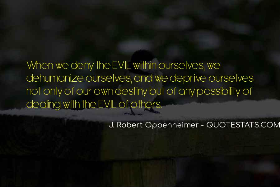 Quotes About Oppenheimer #705566